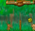Игра на двоих про волейбол с мишками (Фото из игры №1)