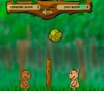 Игра на двоих про волейбол с мишками (Фото из игры №3)