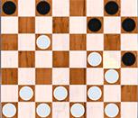 3Д шашки на двоих