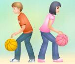 Игра баскетбол Барби