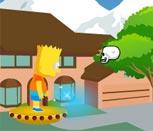 Барт Симпсон против зомби