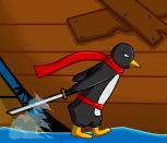 Игра бегалки с пингвином