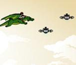 Игра Бен 10 на драконе
