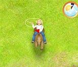 Игра бродилки Барби на лошадях