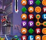 Буквенный алфавит с Черепашками