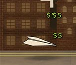 Игра бумажный самолёт