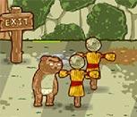 Игра драки животных