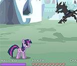 Игра драки с Пони Дружба Это Чудо