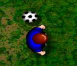 Футбол на природе на двоих