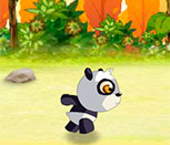 Гонка панды и черепахи