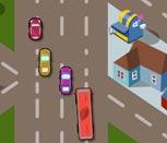 Игра гонки на автобусах по городу