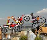 Игра гонки на кроссовых мотоциклах