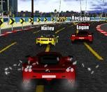 Игра гонки на крутых машинах по городу
