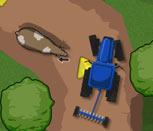 Игра гонки на тракторах по грязи
