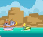 Игра для девочек гонки на воде