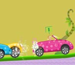 Игра гонки с Барби