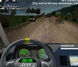 Игра гонки с рулем