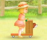 Игра гонки Барби