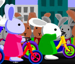 Вело гонки кроликов Блуни