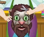 Игра говорящий кот Том в парикмахерской