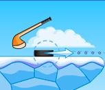 Игра в хоккей с шайбой