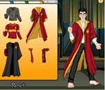 Игра для девочек одеваем Гарри Поттера