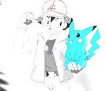 Раскраска для девочек Покемоны