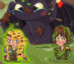 Как Приручить Дракона: Падение в болото