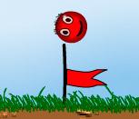 Игра красный шарик 2