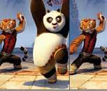 Игра Кунг Фу Панда: Поиск отличий