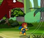 Игра Лего Чима: Побег от динозавра