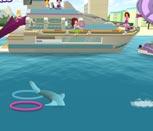 Игра Лего Френдс играют с дельфином