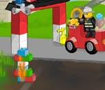 Лего Сити Игра пожарные