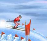Игра лыжные гонки