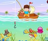 Игра малыш на рыбалке