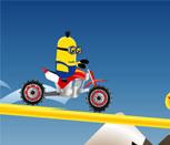 Игра для мальчиков гонка Миньонов