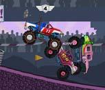 Игра Монстры на колёсах