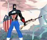 Игра Мстители: Одень Капитана Америку