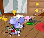 Мышь против кота на двоих