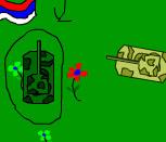 Нарисованные танки на двоих