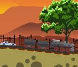 Побег от полиции на поезде