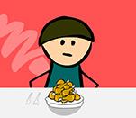 Игра поедание еды на скорость