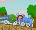 Игра для девочек поезда