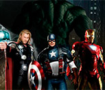Поиск предметов с Мстителями