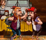 Игра пьяные драки