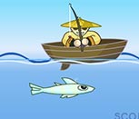Игра рыбалка на лодке
