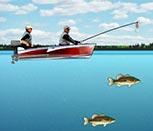 Игра рыбалка на озере