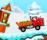 Игра симулятор Санты на грузовике