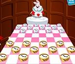 Игра шашки Алиса в Стране Чудес