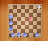 Игра в шашки на выбивание